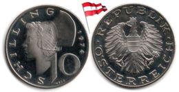 Autriche - 10 Schilling 1974 (Proof - 75,000 Ex.) - Austria