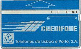 PHONECARDS-PORTUGAL --- TLP--OPTICAL- AZUL---50 U-- BATCH--101B - Portugal