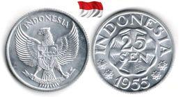 Indonésie - 25 Sen 1955 (UNC) - Indonésie