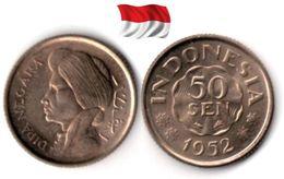 Indonésie - 50 Sen 1952 (UNC) - Indonesia