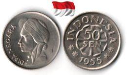 Indonésie - 50 Sen 1955 (UNC) - Indonesia