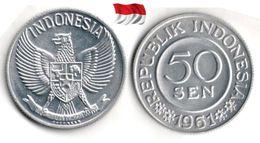 Indonésie - 50 Sen 1961 (UNC) - Indonesia
