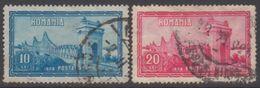 ROUMANIE 1928 2 TP 50e Anni Du Rattachement De La Dobroudja N° 363 Et 364 Y&T Oblitéré - 1918-1948 Ferdinand, Carol II. & Mihai I.