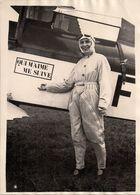 Aviatrice Française Jeanne Bujol - 1931 - Aviation