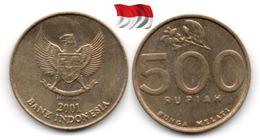 Indonésie - 500 Rupiah 2001 (High Grade) - Indonesia