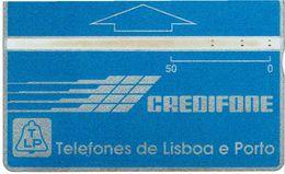 PHONECARDS-PORTUGAL --- TLP--OPTICAL- AZUL---50 U-- BATCH-910F - Portugal