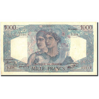 France, 1000 Francs, 1 000 F 1945-1950 ''Minerve Et Hercule'', 1946, 1946-03-07 - 1871-1952 Anciens Francs Circulés Au XXème
