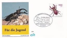 Germany FDC 1993 Käfer - Für Die Jugend    (G87-9) - FDC: Covers
