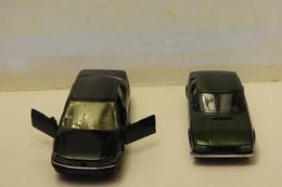 SOLIDO  :  2 Peugeot : Coupé 504 Et Berline 605 1/43 éme - Solido