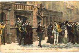 CPA N°18316 - LOT DE 14 CARTES DE BLOIS - RENCONTRE DE HENRI III ET DU DUC DE GUISE - Blois