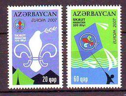 Azerbaijan 2007 Europa-Scouts-Dove (2) UM - Azerbaïjan
