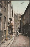 High Street, St Ives, Cornwall, 1908 - W H Smith Derwent Postcard - St.Ives