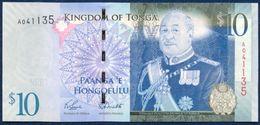 TONGA 10 PA'ANGA PAANGA P-40a 2009 UNC - Tonga