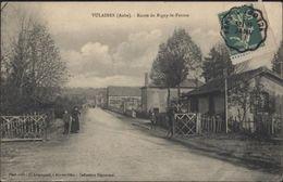 CPA Vulaines Aube Route De Rigny Le Ferron - France
