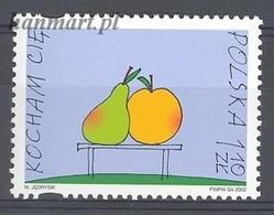 Poland 2002 Mi 3951 MNH ( ZE4 PLD3951 ) - Obst & Früchte