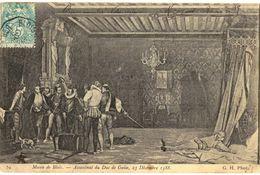 CPA N°18317 - LOT DE 12 CARTES DE BLOIS - ASSASSINAT DU DUC DE GUISE D' APRES LE TABLEAU DE C. COMTE - Blois