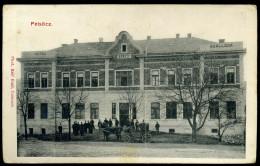 PELSŐC /  Plešivec 1910. Ca. Vasúti Szálloda Régi Képeslap               ## - Hongrie