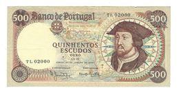 Portugal - 500 Escudos (500$00) 1966 - Very Fine VF - Portugal