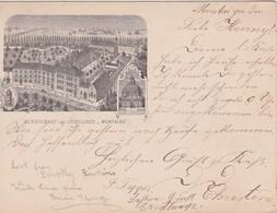 BELGIQUE  1899 CARTE POSTALE DE MONTAIGU  PENSIONNAT DES URSULINES - Belgien