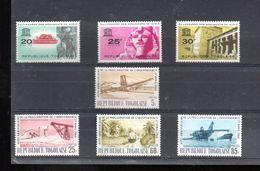 TOGO 409/411 + 412/415** SUR LA SAUVEGARDE DES MONUMENTS DE NUBIE ET L ANNIVERSAIRE DE L INDEPENDANCE - Togo (1960-...)