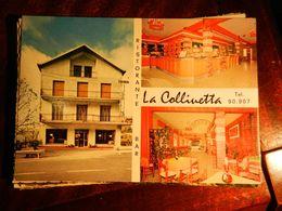 15537) GENOVA SCOFFERA GALLERIA DI SOTTOCOLLE BAR LA COLLINETTA VIAGGIATA 1971 - Genova