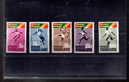 TOGO 453/456 + A 48** SUR LES JEUX AFRICAINS DE BRAZZAVILLE - Togo (1960-...)