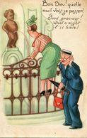 CPA - Carte Postale  - Belgique - Humour Belge - Manneken Pis - Belgique