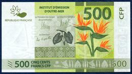 FRENCH PACIFIC TERRITORIES 500  FRANCS P-5 FLOWER 2014 UNC - Territoires Français Du Pacifique (1992-...)