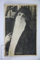 Old Real Photo Postcard Egypt - Egyptian Lady - Alejandría