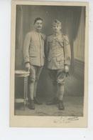 LAVAL - MILITARIA - Belle Carte Photo Portrait Militaires (N°124 Sur Uniformes) - Photo A. LOUVEAU à LAVAL - Laval