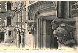 CPA N°18319 - LOT DE 3 CARTES DE BLOIS - LE CHATEAU - Blois