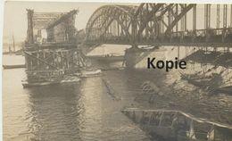 AK Riga, Zerstörte Brücke - Lettland