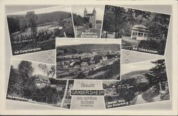 D-37581 Bad Gandersheim - Alte Ansichten - Bahnhof - Bad Gandersheim