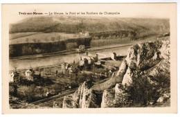 CPA Yvoir Sur Meuse, Le Pont Et Les Rochers De Chalpalle (pk41666) - Yvoir