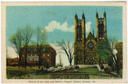 Church Of Our Lady And Rectory Guelph, Ontario Canada (pk41669) - Ontario