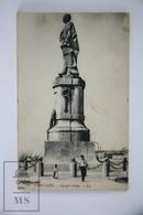 Old Postcard Egypt - Port Said - Lessep's Statue - Puerto Saíd