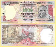 India 1000 Rupees P-100a 2006 Letter L UNC - India