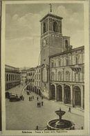 ITALIA - ANCONA , FABRIANO - PIAZZA E CORSO DELLA REPUBBLICA, VIAGGIATA - Ancona