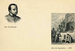 """CELEBRITE  L 1    """"  DU GUESCLIN """"  CPA  9 X 14 - Historical Famous People"""