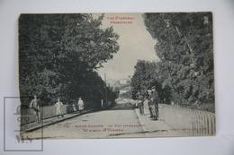 Old Postcard France - Pyr. Or. - Bourg Madame - Le Pont International Et Avenue De Puigcerda - Animated - Posted 1928 - Francia