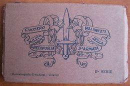 ITALIA - GORIZIA, REDIPUGLIA - CIMITERO MILITARE , BOOKLET , LIBRETO CON 15 CARTOLINE - Gorizia