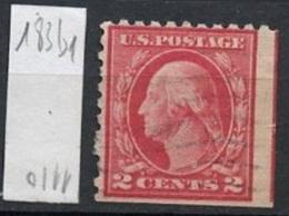 Etats Unis - Vereinigte Staaten - USA 1912-15 Y&T N°183bd - Michel N°190ADor (o) - 2c G Washington - Etats-Unis