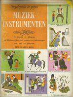 ENCYCLOPEDIE IN ZEGELS N° 31 MUZIEKINSTRUMENTEN ( HOBO HARP GITAAR DOEDELZAK HOORN ACCORDEON TROMBONE LUIT ...) 1961 - Encyclopedia
