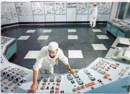 Centre De Production Nucléaire Du BUGEY - Salle De Commande - Centrale 1  (102017 E) - Non Classés