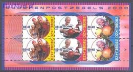 Netherlands 2000 Mi Bl 64 MNH ( ZE3 NTHbl64 ) - Obst & Früchte