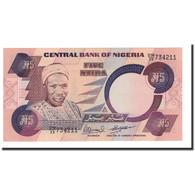 Billet, Nigéria, 5 Naira, UNDATED (1984), KM:24e, NEUF - Nigeria