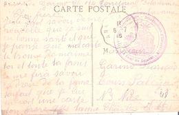Basses Alpes :- ENTREVAUX 114° REGIMENT D'INFANTERIE DETACHEMENT D'ENTREVAUX - Guerre De 1914-18