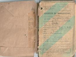 France Livret Militaire Complet Classe 1912 - Documentos Históricos