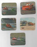 5 MAGNETS CARS - DISNEY PIXAR 2006 - 6 X 5 Cm - Humoristiques