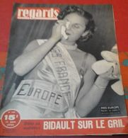 Regards N°145 11 Juin 1948 Miss France Devient Miss Europe,Politique Si Bidault Quittait Le Quai D'Orsay - Boeken, Tijdschriften, Stripverhalen